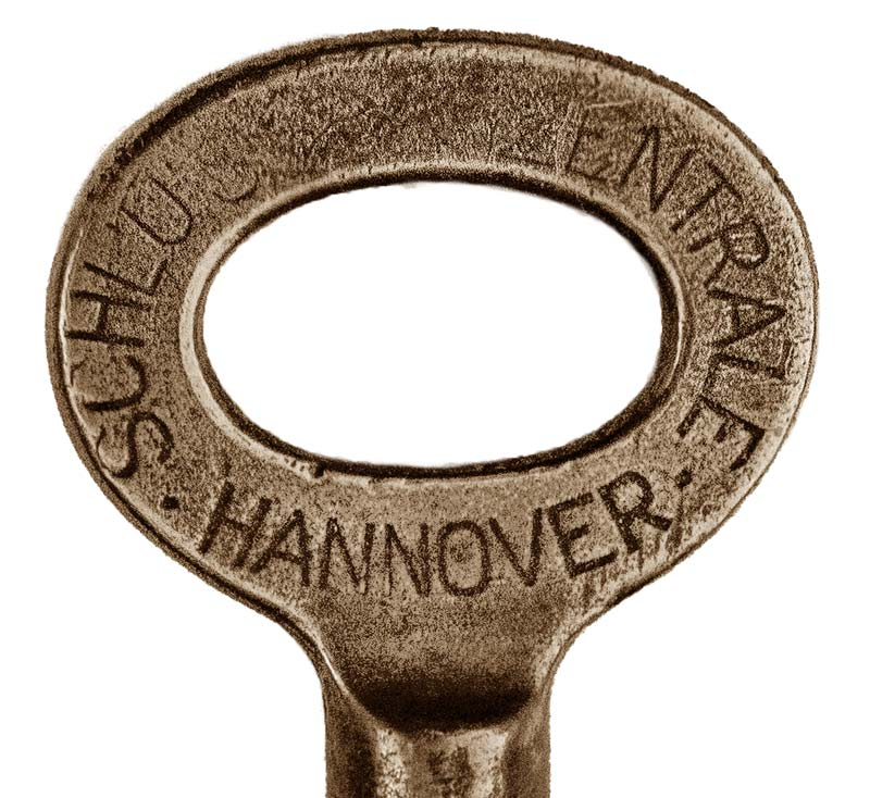 Alte Schlüssel Buntbart