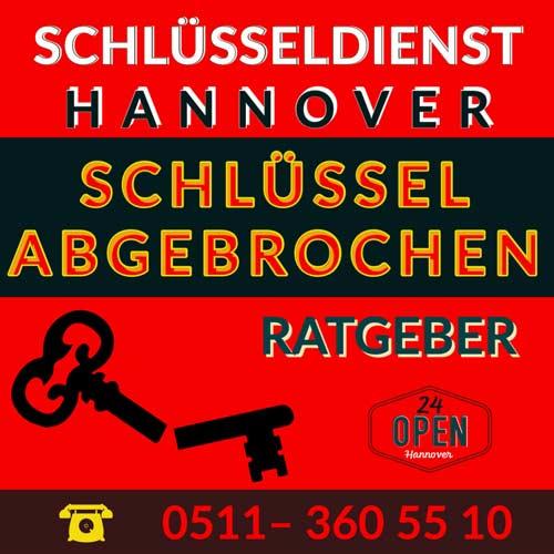 Ratgeber Schlüssel abgebrochen Hannover